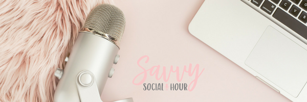 savvy social hour email header