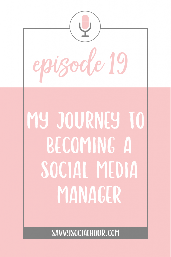 Find out my journey to becoming a productive and profitable social media manager today on the Savvy Social Hour.