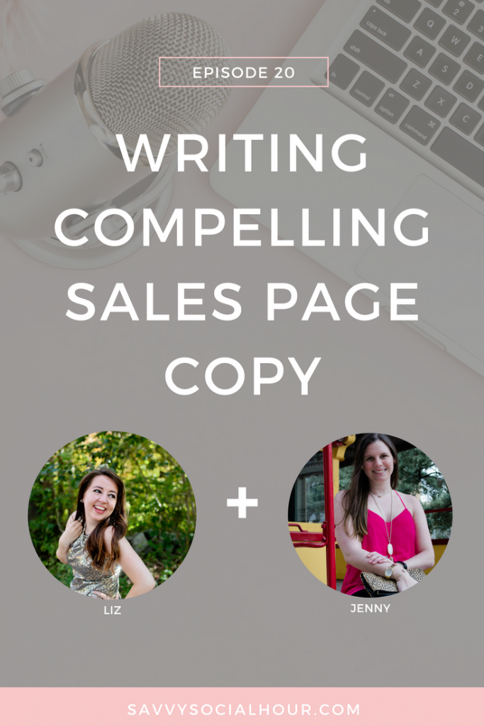 Want to create compelling sales copy? Then this is the episode for you!