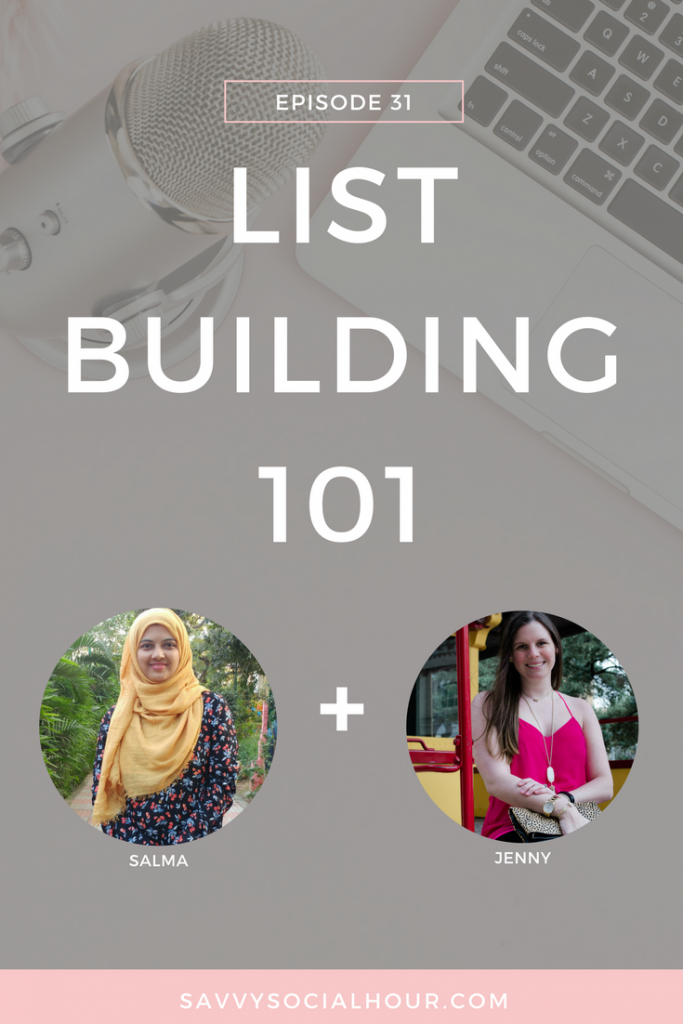 Learn how to start building + monetizing your email list with today's episode!