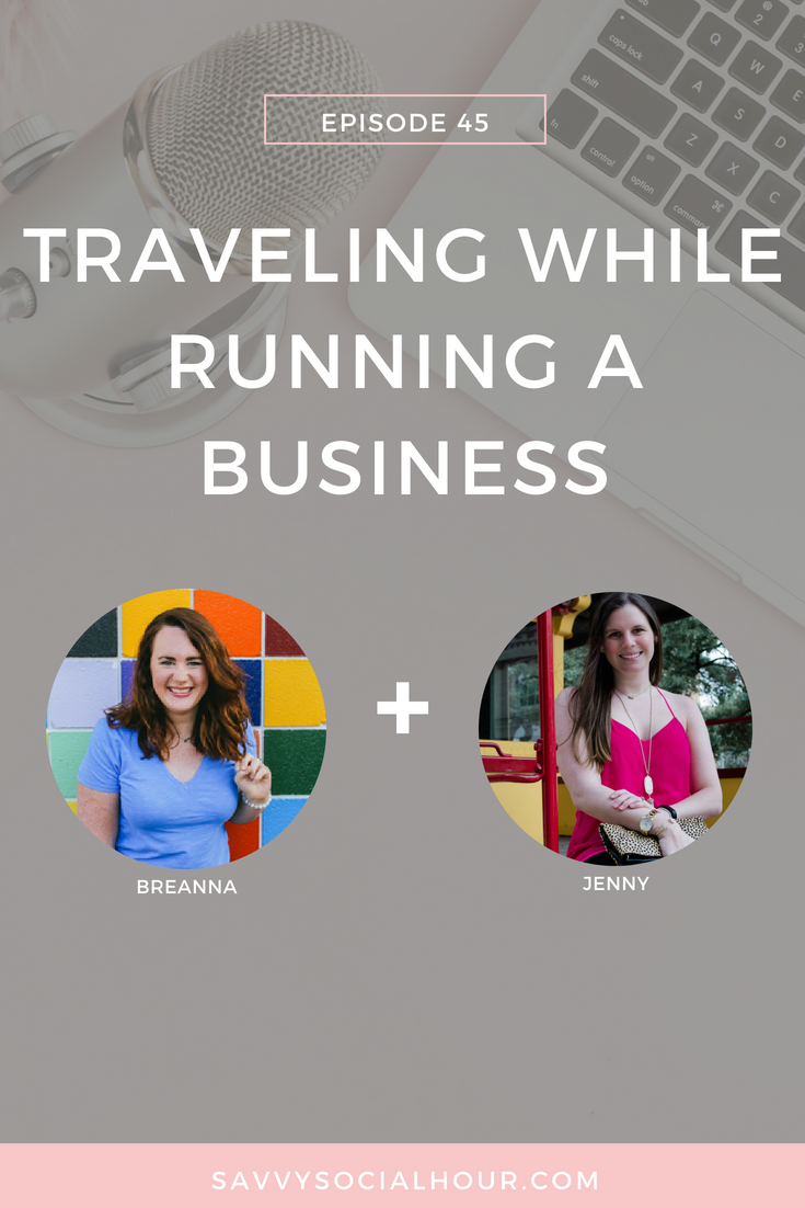 Traveling While Running a Business
