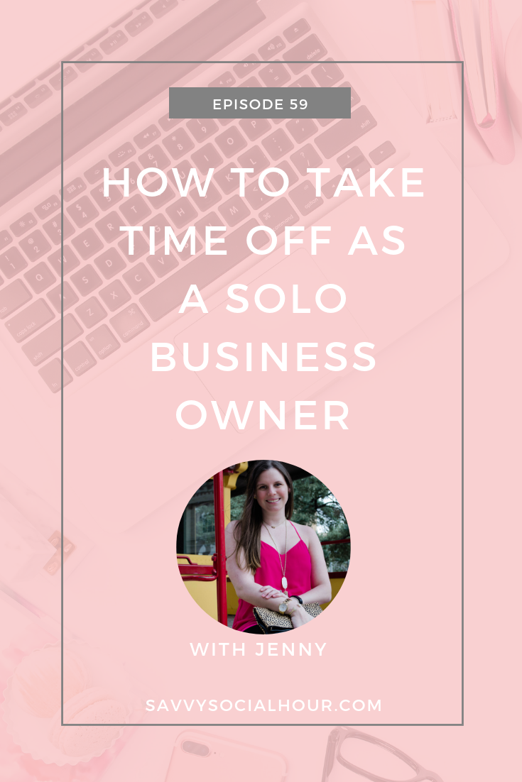 How to Take Time Off as a Solo Business Owner