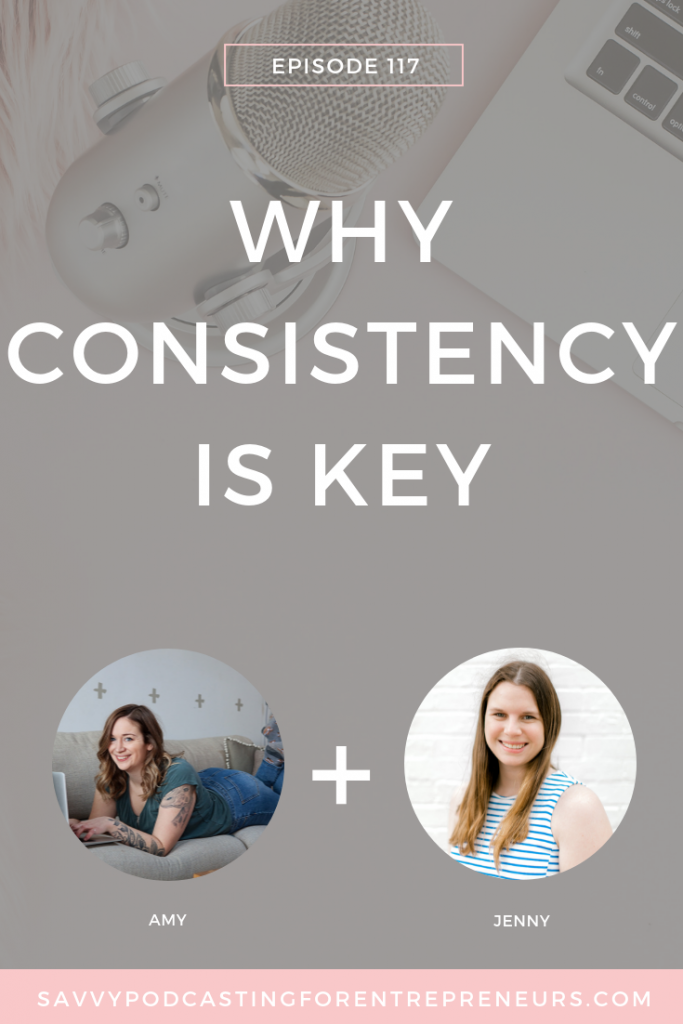 In today's episode, Amy and I chat all about why consistency is key for your podcast.